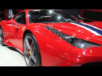 Francfort 2013 - Ferrari 458 Speciale