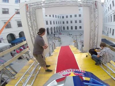 Vidéo GoPro du run à vélo de Marcelo Gutierrez à Bratislava