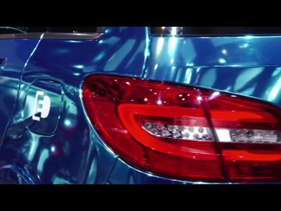 Mercedes Classe B Electric Concept - Mondial 2012