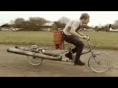 JET Bicycle, le vélo le plus dangereux au monde