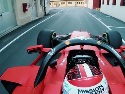 F1 - Scuderia Ferrari : la balade de Charles Leclerc dans les rues de Maranello