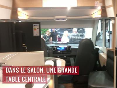 Camping-car : le Hymer B-ML i 880 en vidéo au Salon des Véhicules de Loisirs 2019