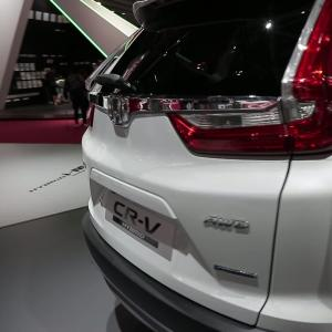 Mondial de l'Auto 2018 : la Honda CR-V hybrid en vidéo