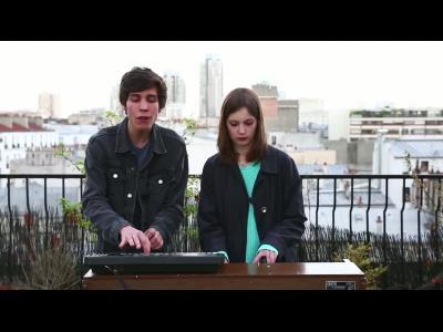 The Pirouettes deuxième live sur les toits de Paris, pour Men's UP