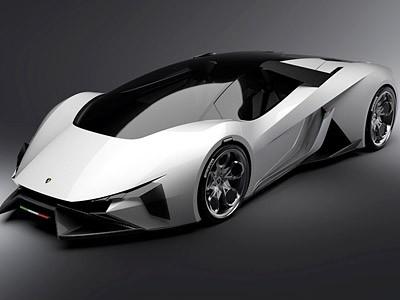 La Lamborghini de 2023 selon un jeune designer français