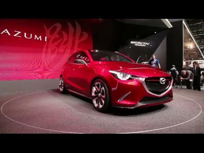 Genève 2014 : Mazda Hazumi Concept