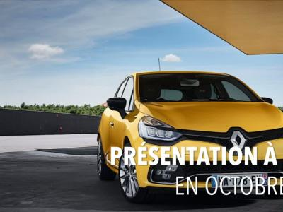 Clio 5 : les pistes de la version 2018