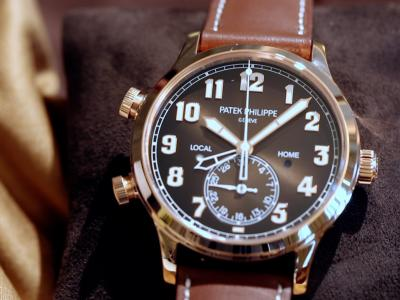 Patek Philippe Calatrava Pilot Travel Time : GMT facile à utiliser