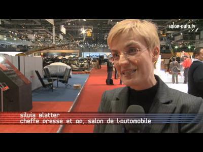 Reportage derniers préparatifs salon de Genève 2009