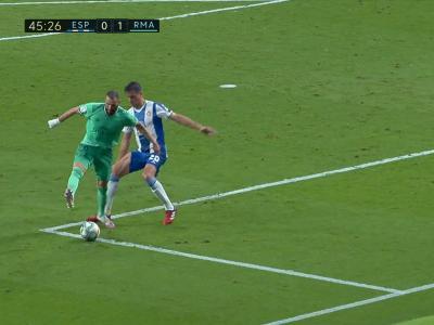 Real Madrid : la géniale talonnade de Karim Benzema pour l'ouverture du score face à l'Espanyol Barcelone !