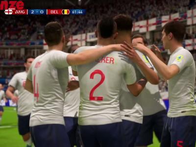 Angleterre - Belgique : notre simulation sur FIFA 18