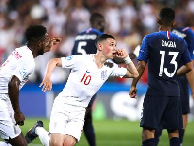 Angleterre-France de l'Euro espoirs 2019 : le but de Phil Foden !