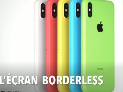 iPhone Xc : le concept d'iDropNews en vidéo