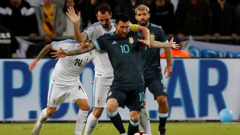 Amical : L'Argentine et l'Uruguay dos à dos