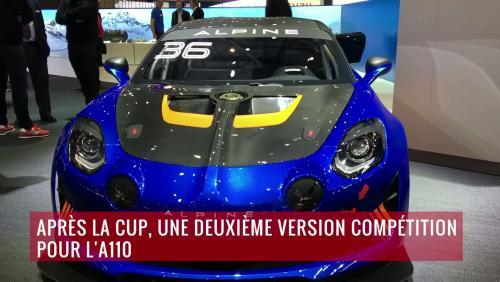 L'Alpine A110 GT4 en vidéo depuis le salon de Genève 2018