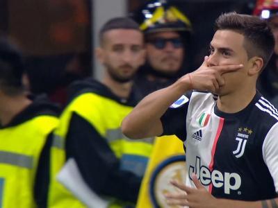 Inter Milan - Juventus : l'ouverture du score de Paulo Dybala !