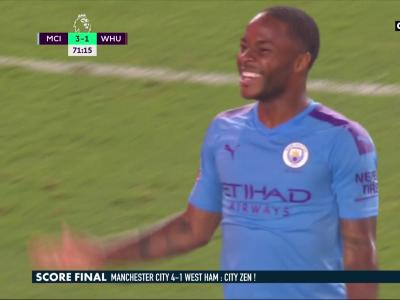Manchester City - West Ham : les Citizens s'imposent sans forcer face aux Londoniens