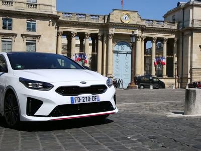 Sur la route de Ted en Kia ProCeed