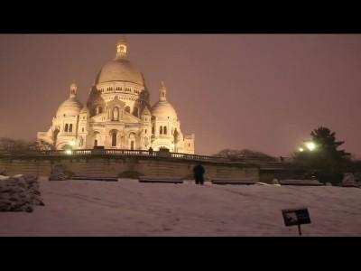 Du Ski à Montmartre