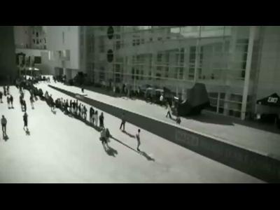 Grande final du skate Arcade à Barcelone
