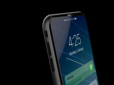 iPhone 8 : concept vidéo avec un écran sans bords