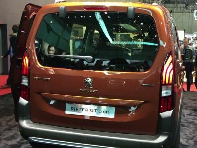 Le Peugeot Rifter en vidéo depuis le salon de Genève 2018