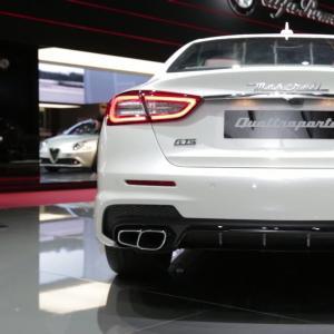 Mondial 2016 : Maserati Quattroporte