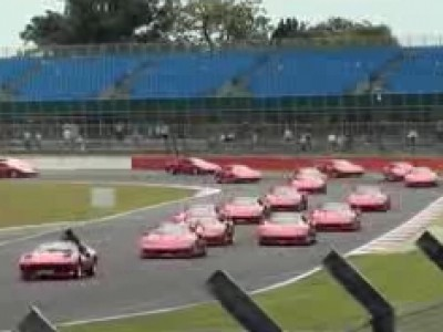Le plus grand rassemblement de Ferrari F40 au monde