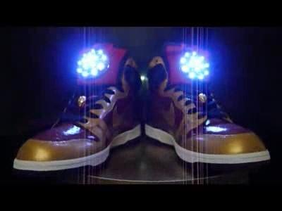 Des Sneakers aux couleurs d'Iron Man
