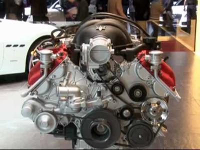 Maserati Gran Turismo Automatic - Salon de Genève 2009