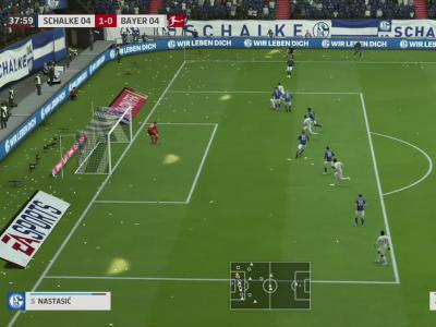 Schalke 04 - Bayer Leverkusen sur FIFA 20 : résumé et buts (Bundesliga - 31e journée)