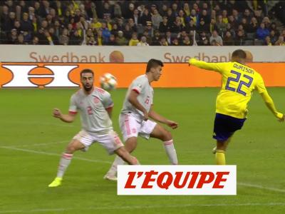 Tous les buts de Suède-Espagne en vidéo - Foot - Qualif. Euro