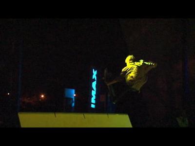 Tron Skateboarding