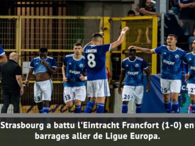 Ligue Europa - Strasbourg prend une option