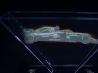 Renault R.S.18 : la F1 de Renault se dévoile en hologramme