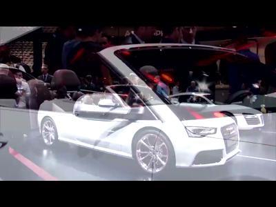 Audi RS5 Cabriolet - Mondial 2012