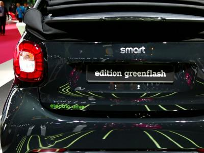 Mondial Auto 2016 : Smart ForTwo EV cabriolet