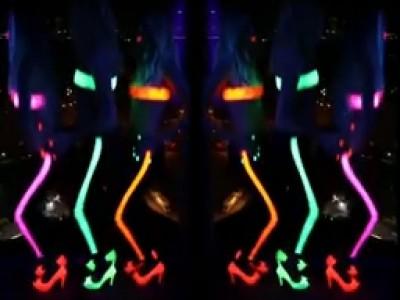 Phosphorescent Invasion lors de la Fashion Week New Yorkaise