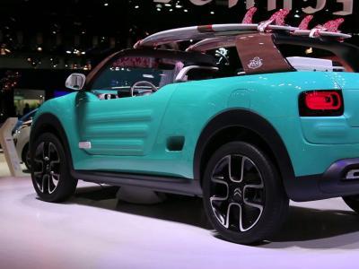 Francfort 2015 : Citroën Cactus M