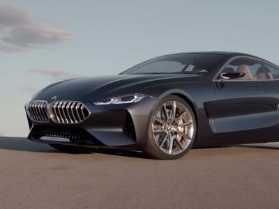 BMW Série 8 Concept : la GT grand luxe fait son retour à Munich