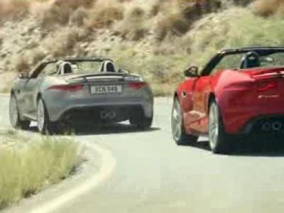 La Jaguar F-Type en balade