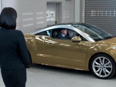 Une voiture qui change de couleur à l'humeur