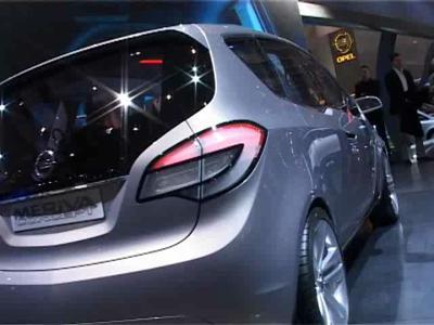 Reportage Opel Meriva Concept