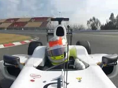 F1 2012 : un tour embarqué en Sauber