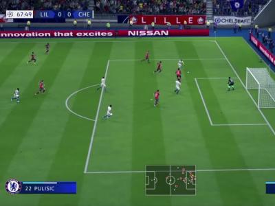 FIFA 20 : on a simulé Lille - Chelsea