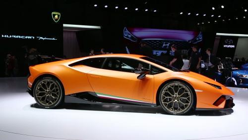 Genève 2017 : Lamborghini Huracán Performante