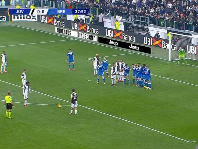 Serie A : Le coup franc parfait de Dybala