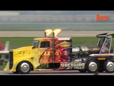 Le camion le  rapide du monde