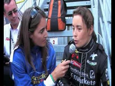 24H du Mans - Interview Vanina Ickx