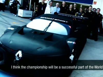 Le prototype de course Renault RS01 est bien né
